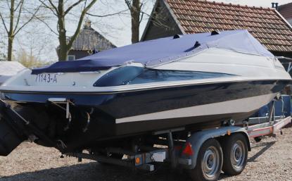 Speedboot verven